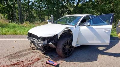 PHOTOS: Man high on Xanax crashes into South Hills day care, police say