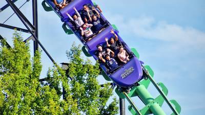 Fans select new color for Kennywood's Phantom's Revenge roller coaster