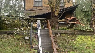 PHOTOS: Strong morning storms spawn Tornado Warnings, leave damage path