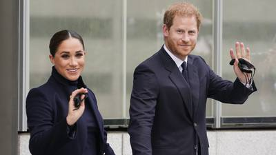 Photos: Prince Harry, Meghan Markle visit One World Trade Center in New York