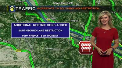 TRAFFIC: I-79 northbound closure