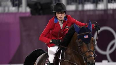 Tokyo Olympics: Jessica Springsteen wins silver in equestrian team jumping