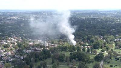 PHOTOS: Smoke seen for miles from fire at Mt. Lebanon home