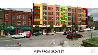 Our Region's Business - New apartment plan in Hill District