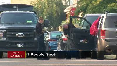 Four people shot in Arnold; homes, cars riddled with bullets