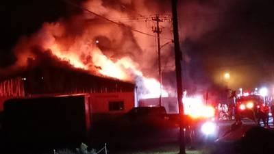 Fire burns through family business in Hempfield Township