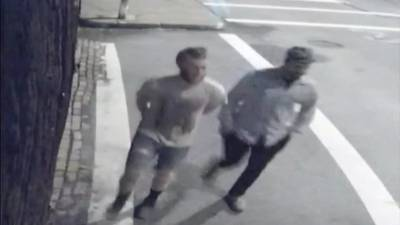 Millvale Police offer $1,000 reward for information on men suspected of ripping down flags