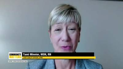 UPMC Community Matters: Chief Quality Officer Tami Minnier talks about the importance of masking