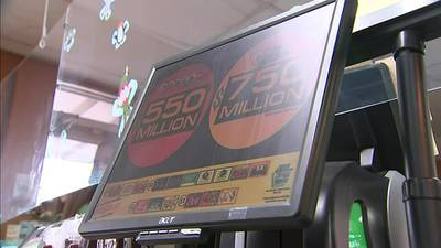 Lottery players lining up for a chance to win 2nd highest Mega Millions jackpot