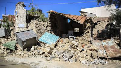 Photos: 1 dead after strong earthquake shakes Greek island of Crete