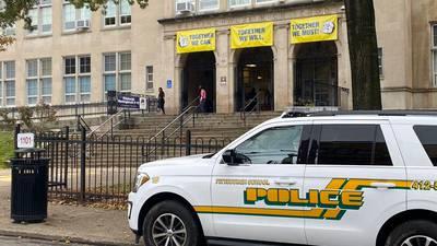 Weapon found near Pittsburgh school; student taken into custody