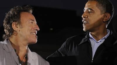 'Renegades': Barack Obama-Bruce Springsteen book set for October release