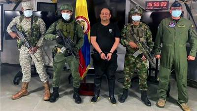 'Otoniel,' Colombia's most-wanted drug lord, captured