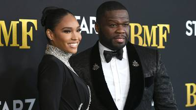 Photos: 50 Cent, Monica, other stars walk the 'BMF' premiere red carpet