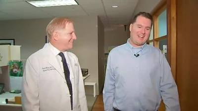 Local man with movement disorder sees improvement following groundbreaking surgery