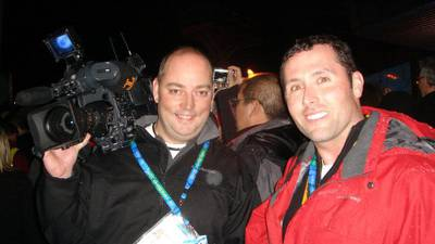 PHOTOS: Channel 11 Morning News anchor Gordon Loesch shares experience covering past Olympic games