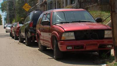 City of Pittsburgh launches abandoned vehicle blitz