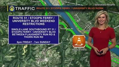 Trisha Pittman Route 51 Stoops Ferry University BLVD Work