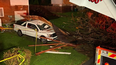 PHOTOS: Strong storms cause damage after multiple tornado warnings in western Pa.