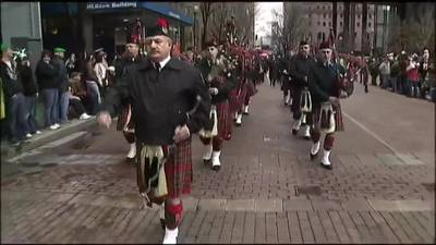 Thousands attend St. Patrick's Day Parade in downtown Pittsburgh Saturday