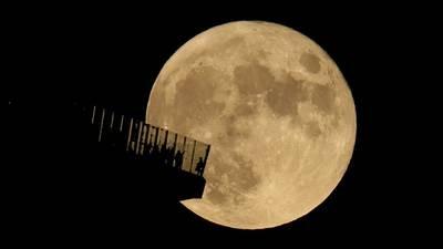 Photos: October 2021 Hunter's Moon brightens the night sky