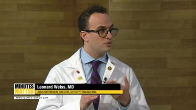 Minutes Matter with Dr. Leonard Weiss, City of Pittsburgh EMS