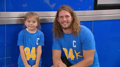 Pitt football player, former Central Catholic star gives back to Children's Hospital of Pittsburgh