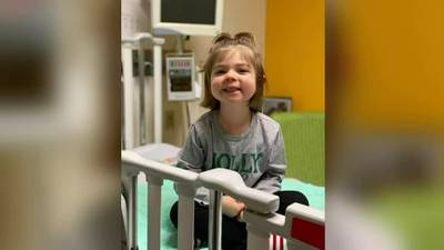 Pittsburgh nonprofit helps 4-year-old girl celebrate her final chemo treatment