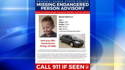 Police looking for missing, endangered boy out of Braddock