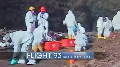 FBI first responder remembers rushing to Flight 93 crash site on 9/11