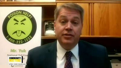 UPMC Community Matters: Dr. Michael Lynch talks about poison prevention and safety education