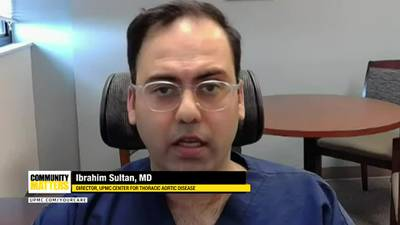 UPMC Community Matters: Dr. Ibrahim Sultan talks about aortic heart valve disease treatment