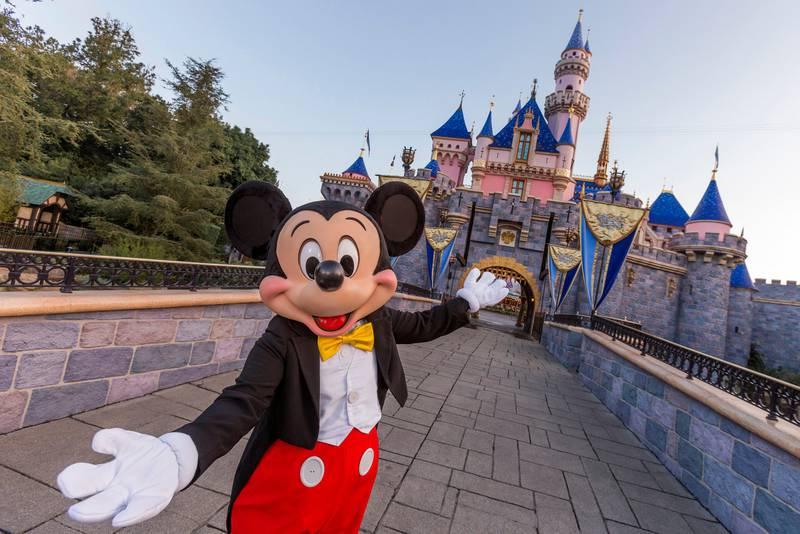 FILE PHOTO: Mickey Mouse's realm may be expanding at the Disneyland resort.