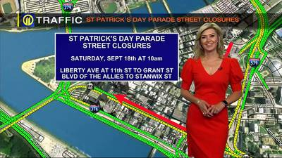 TRAFFIC: St. Patrick's Day Parade restrictions (9/16/21)
