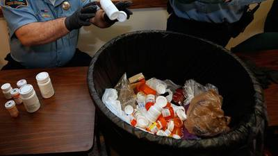 Allegheny County police agencies participate in National Prescription Drug Take Back Day
