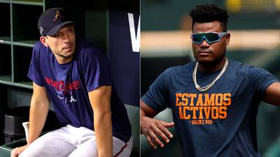 Photos: Braves, Astros stars gear up for World Series Game 1