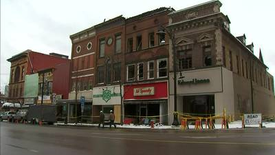 Struggling small businesses heavily damaged as fast-moving fire tears through Main Street in Butler