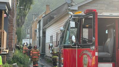 Teen in custody after suspicious fires were reported on multiple streets in Kittanning