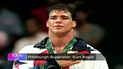 Pittsburgh Superstars: Kurt Angle, wrestling