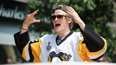 Pittsburgh Penguins congratulate player Jake Guentzel on marriage