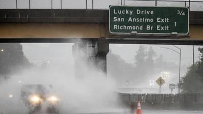 'Atmospheric river' slams Northern California, kills 2 in Washington state