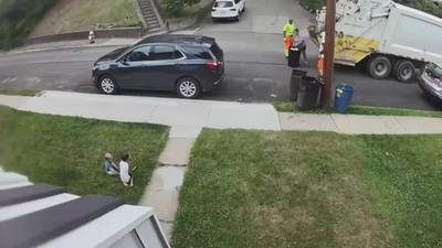 Video captures Pittsburgh mother dumping her own trash into sanitation trucks when workers refused