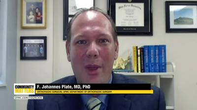 UPMC Community Matters: Dr. F. Johannes Plate talks about joint and bone health