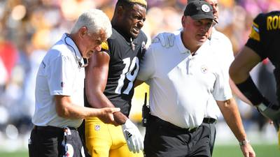 Steelers offense plots a path forward without Smith-Schuster