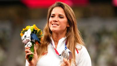 Olympian auctions silver medal to help pay for baby's heart surgery