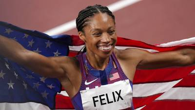 Olympic history: Allyson Felix becomes most decorated female Olympian in track and field