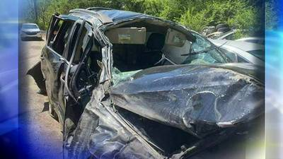 Woman saved from crash wishes to thank rescuers