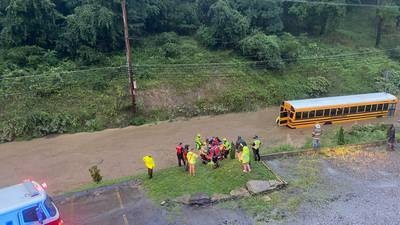 PHOTOS: Heavy rain from the remnants of Ida is causing flooding across the Pittsburgh area