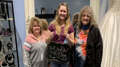 Local bridal shop owner gives back to frontline workers